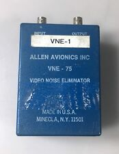 ALLEN AVIONICS VNE-75 VIDEO NOISE ELIMINATOR