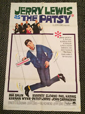 THE PATSY Original One-Sheet Poster 1964 Jerry Lewis VG
