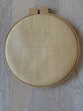 Wooden Round Frame For Cross Stitch New