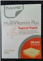 PatchMD Multivitamin Plus Topical Vitamin Patch 30 Day Supply Patch-MD