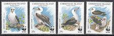 Christmas Island Nr. 303-306** WWF Abbottstölpel