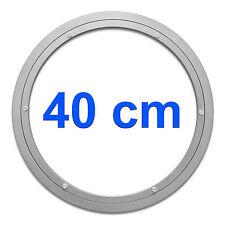 Drehkranz Ø 400mm Aluminium | Drehlager Drehteller Drehscheibe Lenkkranz Alu