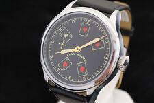 Vintage Russian CCCP wrist watch Molnija pocker FULL HOUSE