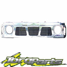 CHROME GRILLE SUIT GQ PATROL NISSAN 87-94 SERIES 1 MAVERICK GRILL Y60