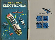 The real book of electronics Television X-Rays STODDARD & SCHWARZ 1956