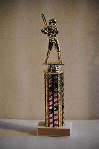 "11"" Baseball, Softball, T-Ball Trophy - Free Engraving"