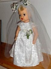 "Terri Lee ~ Terri Lee 16"" Platinum Hair Bride ~ Retired"