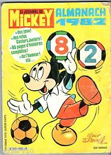 LE JOURNAL DE MICKEY ~+~ ALMANACH 1982