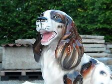33cm COCKER SPANIEL GLORIETTE KERAMIK Wien Austria unbeschädigt-2.Hund im Shop