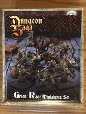 Dungeon Saga: The Green Rage Miniature Set