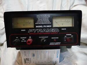 PYRAMID PS-36KX Power Supply 35 Amp 12-15V Regulated Power Supply