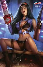 VAN HELSING VS LEAGUE OF MONSTERS #4 (NM) SUN KHAMUNAKI NYCC Cosplay LTD 350