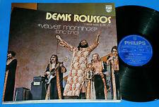 Demis Roussos - Velvet Mornings BRAZIL ONLY LP 1972 1st press Aphrodite´s Child
