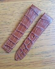 Chopard 19/16mm Brown  Leather Deployment Strap - Never Used - GENUINE