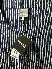 Wall London Blue And White Stripe Top Size S/M New With Tags