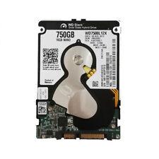 """WD 750GB WD7500L12X 16GB SATA 2.5"""" HDD SSHD Solid State Hybrid Hard Drive 7mm"""