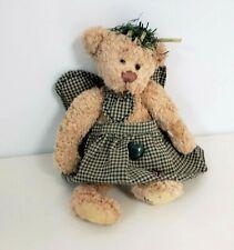 THE GANZ COTTAGE COLLECTIBLES TEDDY BEAR PLUSH ANGEL JOY LORRAINE CHIEN
