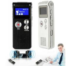 8RI Digital Audio Voice Recorder Rechargeable Dictaphone Telephone MP3 Player YT