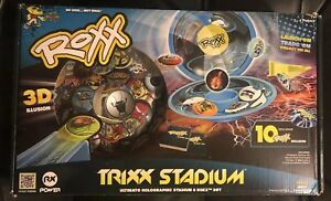 NEW Imperial Toy Roxx Trixx Stadium Ultimate Holographic Stadium & Roxx Set