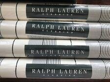 New/Sealed Double Roll Ralph Lauren Classics Wallpaper Stripes Lcw26354
