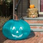 """SCS Direct Teal Pumpkin Giant 35"""" Inflatable for Halloween Decorations - XL B..."""