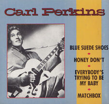"CARL PERKINS - 3""Maxi-CD - BLUE SUEDE SHOES, HONEY DON'T, MATCHBOX...  ( Rhino )"