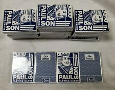 Authentic Paulson No 1 Casino Playing Cards New Not Cancelled SunCruz Casino