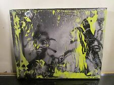 GRAFFITI CANVAS PAINTING BY MUSK YAI ONE OF A KIND 8x10 2017 READY 2 HANG ~NYC