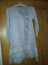 SILVER AUTOGRAPH FRO M&S GIRLS DRESS AGE 2-3