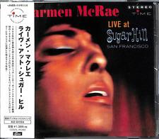 CARMEN MCRAE-LIVE AT SUGAR HILL-JAPAN CD C65