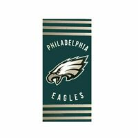 Northwest NFL Philadelphia Eagles Football Stripes Beach Towel 30''x 60'' NEW