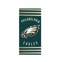 Northwest NFL Philadelphia Eagles Football Stripes Beach Towel 30''x 60'' NEW