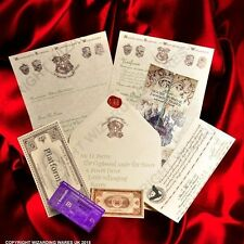 PERSONALISED Harry Potter Hogwarts Acceptance Letter, + Marauders Map + MORE