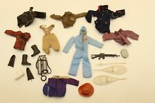 Vintage 70's Mego Action Jackson Clothes and Accessories Lot All Original
