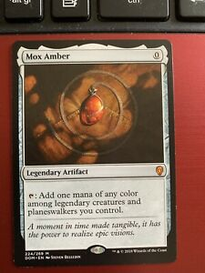 MTG - Mox Amber~ Dominaria- NM