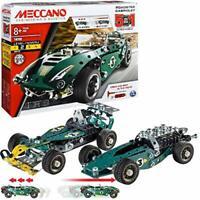Meccano 5 in 1 Model Set-Roadster Cabriolet, Multi Colour