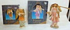 Fontanini Heirloom Nativity Angels Temira - 65302 and Rayna - 65503