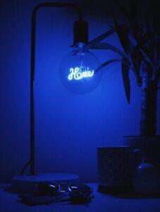 Steepletone Bright Ideas Bulb & Desk lamp LED Filament Text Bulbs
