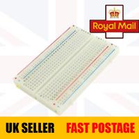 Solderless Breadboard 400 Holes Stackable Solder Free Electronic Prototyping UK