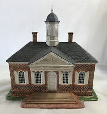 LANG & WISE ~ COLONIAL WILLIAMSBURG ~ The Courthouse ~ IN BOX