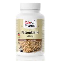 ZeinPharma Katzenkralle 90 Kapseln Tabletten hochdosiert 500mg Made in Germany