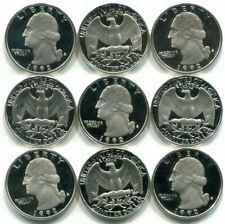 Roll of 40 GEM PROOF CAMEO 1992-S SILVER Washington Quarters - Free Shipping