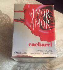 ❣️ CACHAREL AMOR AMOR EAU DE TOILETTE EDT 50ML SPRAY - WOMEN'S FOR HER. NEW ❣