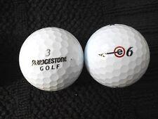 "20 BRIDGESTONE  ""e6"" BLACK LINE  Golf Balls - ""PEARL/A"" Grades."
