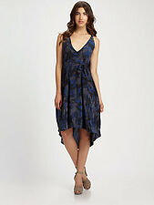NWT $500 Marc by Marc Jacobs Gaia Print Crepe-de-Chine Silk Dress M/L BEAUTIFUL