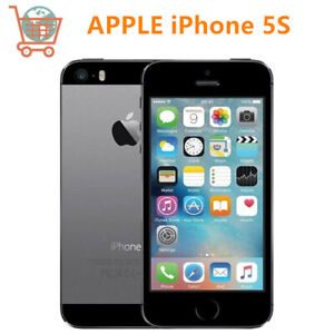 Unlocked Original  Apple iphone 5S 16GB Gray IOS WIFI  GPS 3G iPhone5s Cellphone