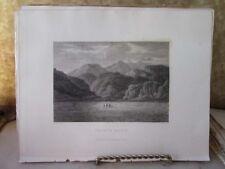 Vintage Print,TRAETH MAUR,Giraldus de Barri,1806,INVASION ROMANS