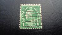 USA, Stamps, US Postage, 1 Cent, Franklin Scott, gestempelt