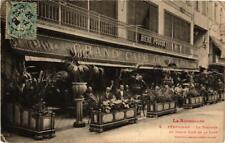 CPA Perpignan La Terrasse du Grand Café de la Loge (680819)