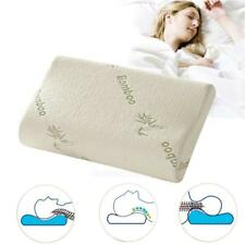 Comfort Orthopedic Bamboo Fiber Sleeping Pillow Memory Foam Pillows #Cu3